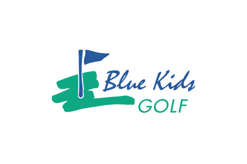 Blue Kids Golf